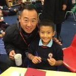 Reception have Breakfast with Dad