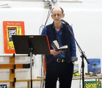 Famous Poet Visits School