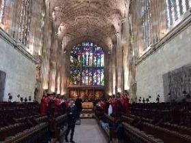 Choristers Sing in Eton College Chapel – 19th May