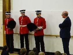 Coldstream Guards Visit – 19th May
