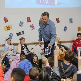 Author David Walliams Visits Upper School