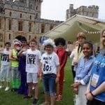 Choristers Sing at Tea Party Broadcast from Windsor Castle