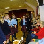 Young Leaders Visit Day Centre