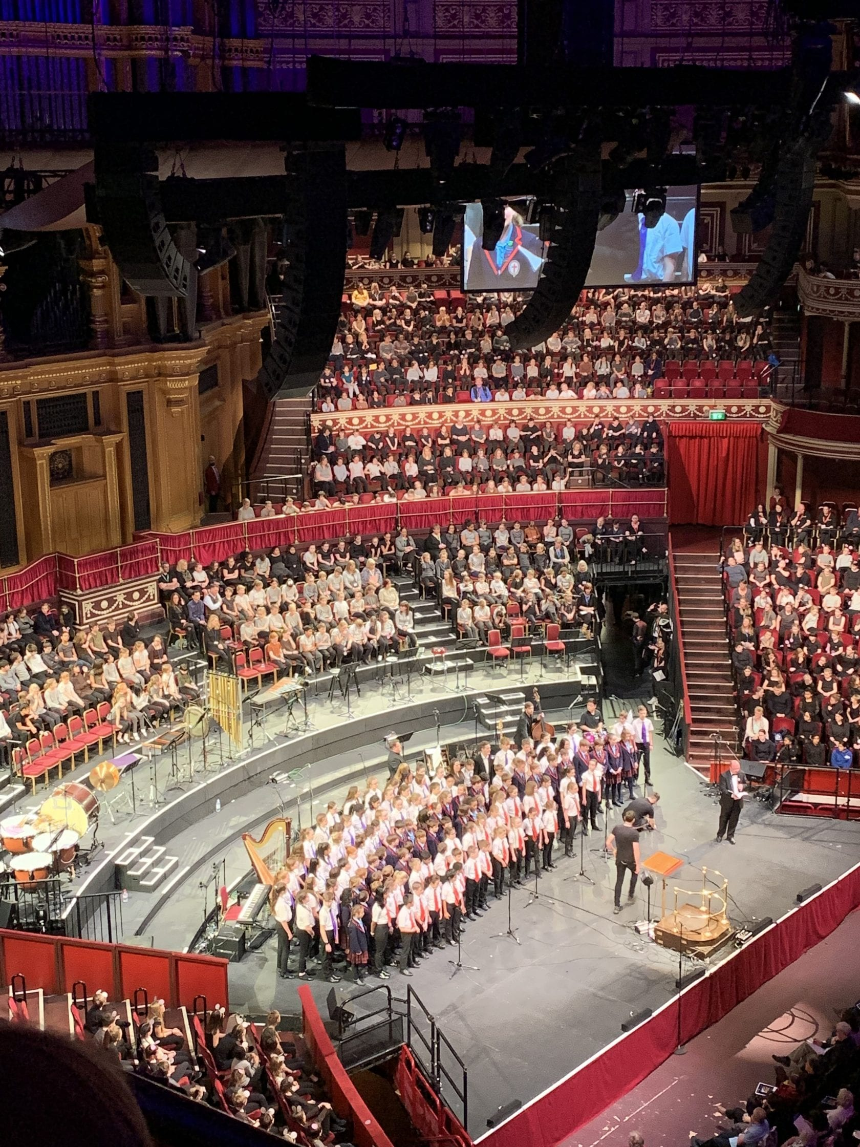 Choirs Sing at Royal Albert Hall